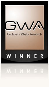 Golden Web Award winner